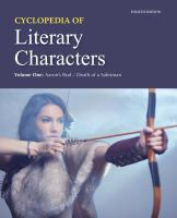 Cycolopedia of Literary Characters