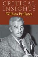 Critical Insights William Faulkner